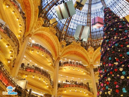 Galeries Lafayette - Compras em Paris - França