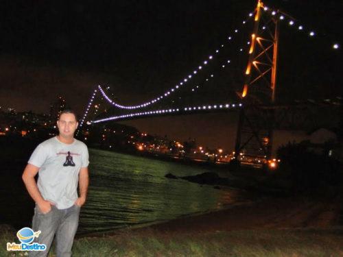 Ponte Hercílio Luz - Florianópolis-SC