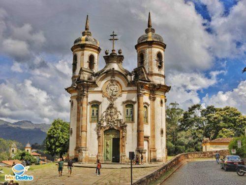 Igreja de São Francisco de Assis - Ouro Preto-MG