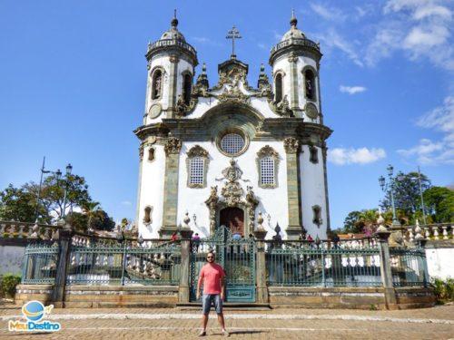 Igreja São Francisco de Assis - Roteiro em São João Del Rei-MG