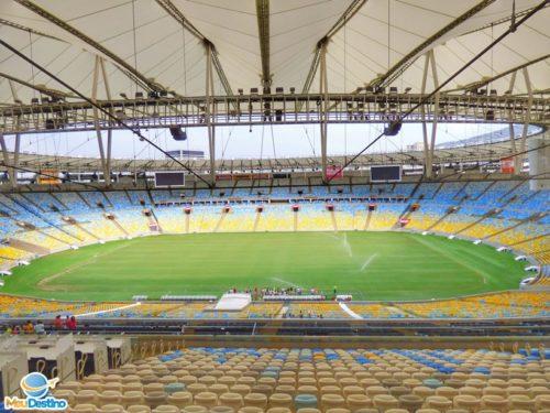 Visita guiada ao Maracanã - Rio de Janeiro-RJ