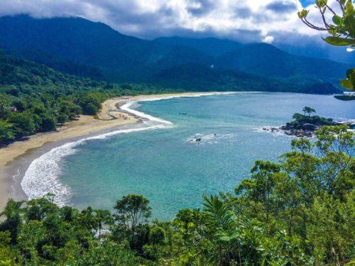Praia de Castelhanos - Ilhabela-SP