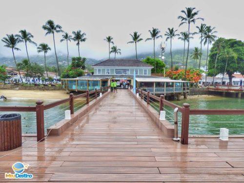 Pier da Vila - Centro Histórico de Ilhabela-SP
