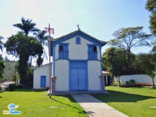 Capela de São Sebastião - O que fazer em Macacos-MG