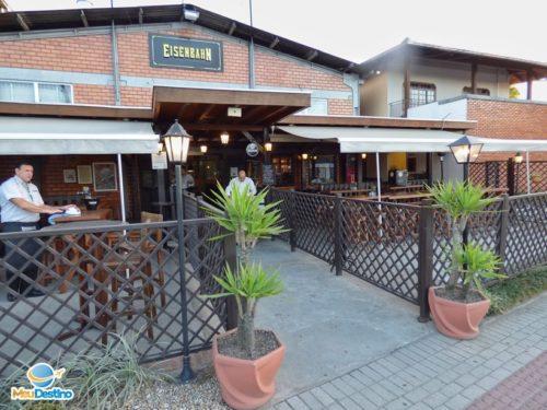 Cervejaria Eisenbahn (bar e fábrica) - Blumemau-SC