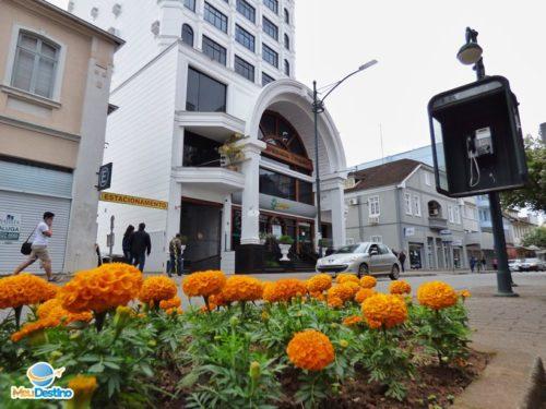 Rua XV de Novembro - Centro Histórico de Blumenau-SC