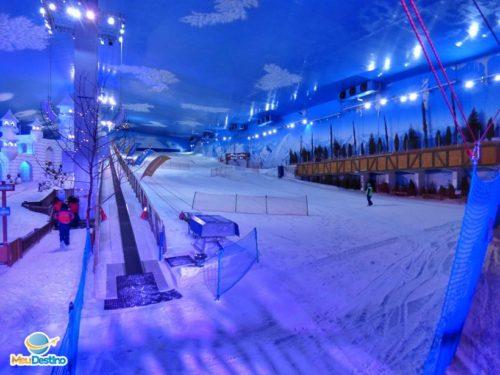 Snowland - Parque de neve indoor em Gramado-RS