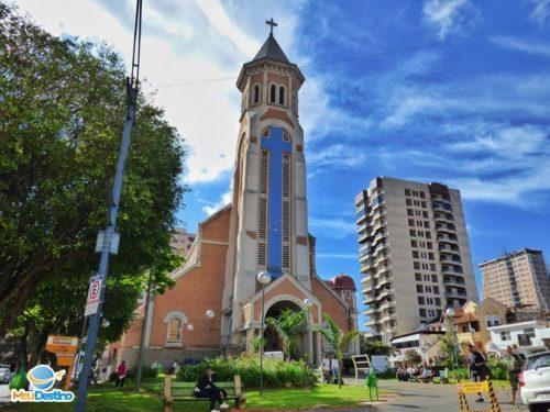 Basílica de Nossa Senhora da Saúde - Roteiro pelo Centro de Poços de Caldas-MG