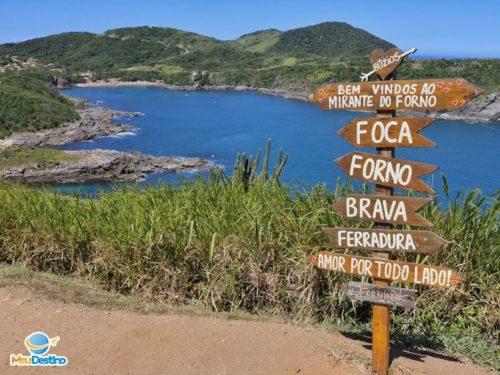 Mirante do Forno - Mirantes em Búzios-RJ