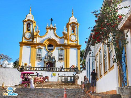 Igreja Matriz de Santo Antônio - Igrejas de Tiradentes-MG