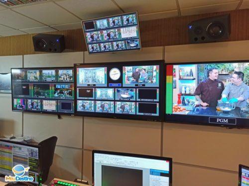 Visita à TV Aparecida - Rede Aparecida de Comunicação