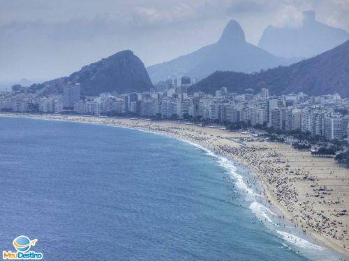 Vista para a Praia de Copacabana