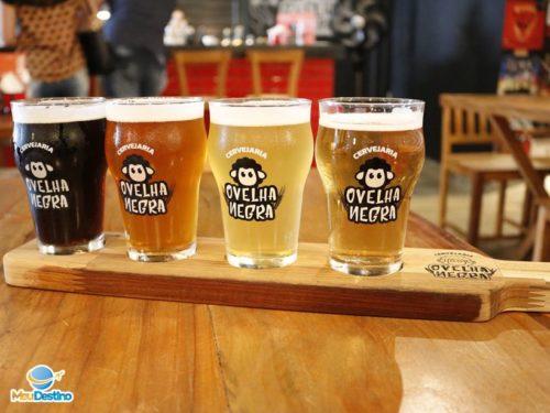 Tábua de Degustação - Cervejaria Ovelha Negra