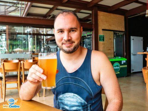 André Morato na Cervejaria Três Orelhas - Gonçalves-MG